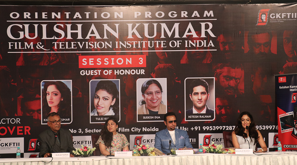 Formal inauguration of the 3rd Session. Chief Guest: Gulshan Grover
