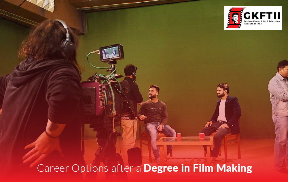 Career Options after a Degree in Film making