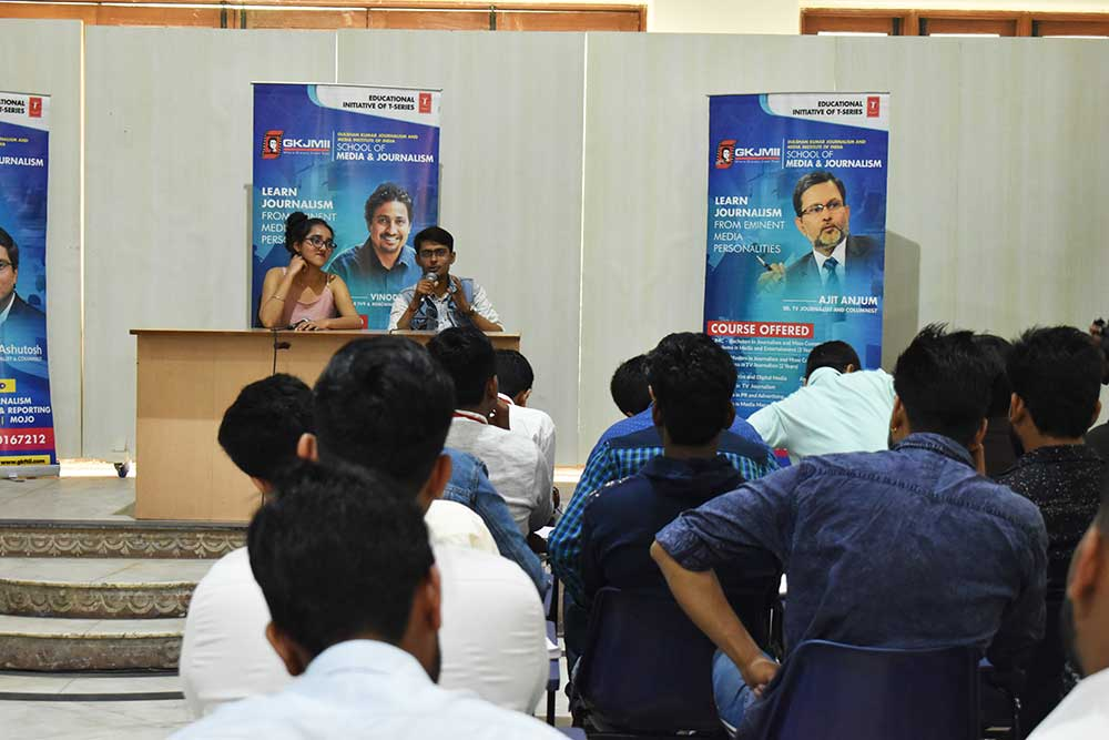 Mock Press Conference on Thappad