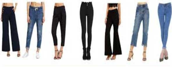 Different types of Womens Trouser