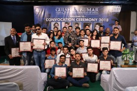 Convocation Ceremony of July 2018 batch (3 Months)