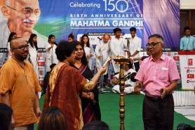 GKFTII Celebrating 150th Birth Anniversary of Mahatma Gandhi