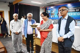 Interaction of Ms Usha Deshpande, renowned film Producer Director