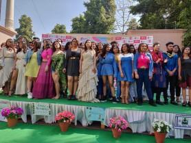 GKFTII-School of Fashion & Design Organized Specialized Workshop on Sustainable Fashion & Fashion Styling